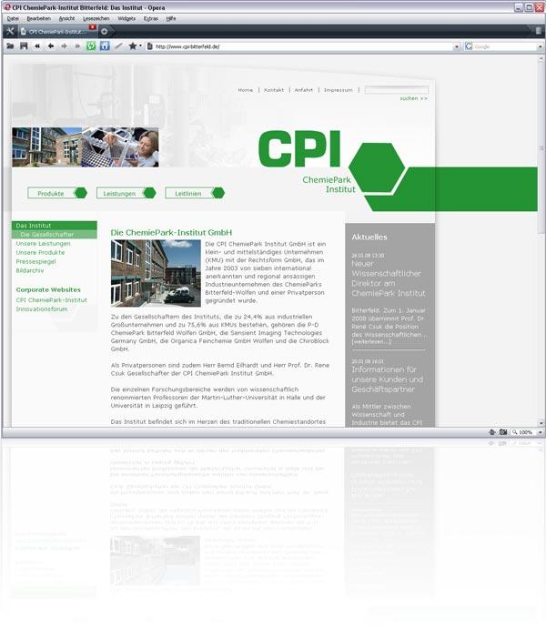 Webseite CPI